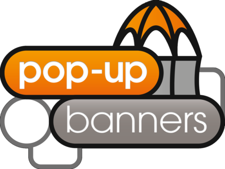 Pop Up Banners logo
