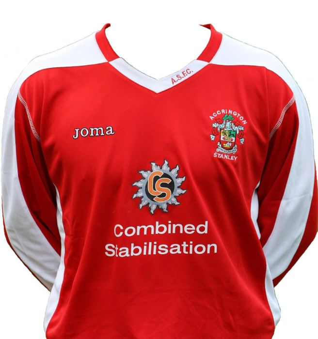Accrington Stanley Home Shirt