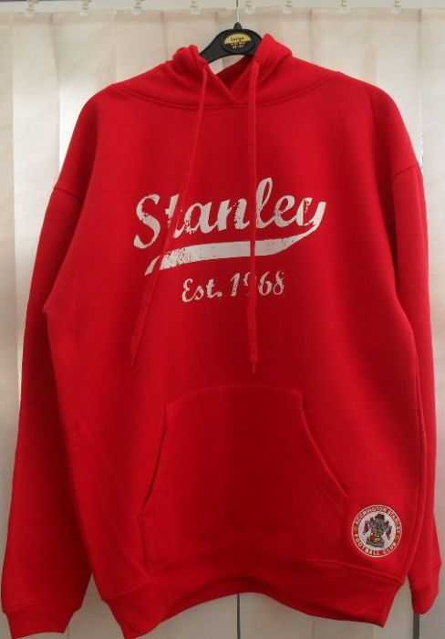 Accrington Stanley red hoody