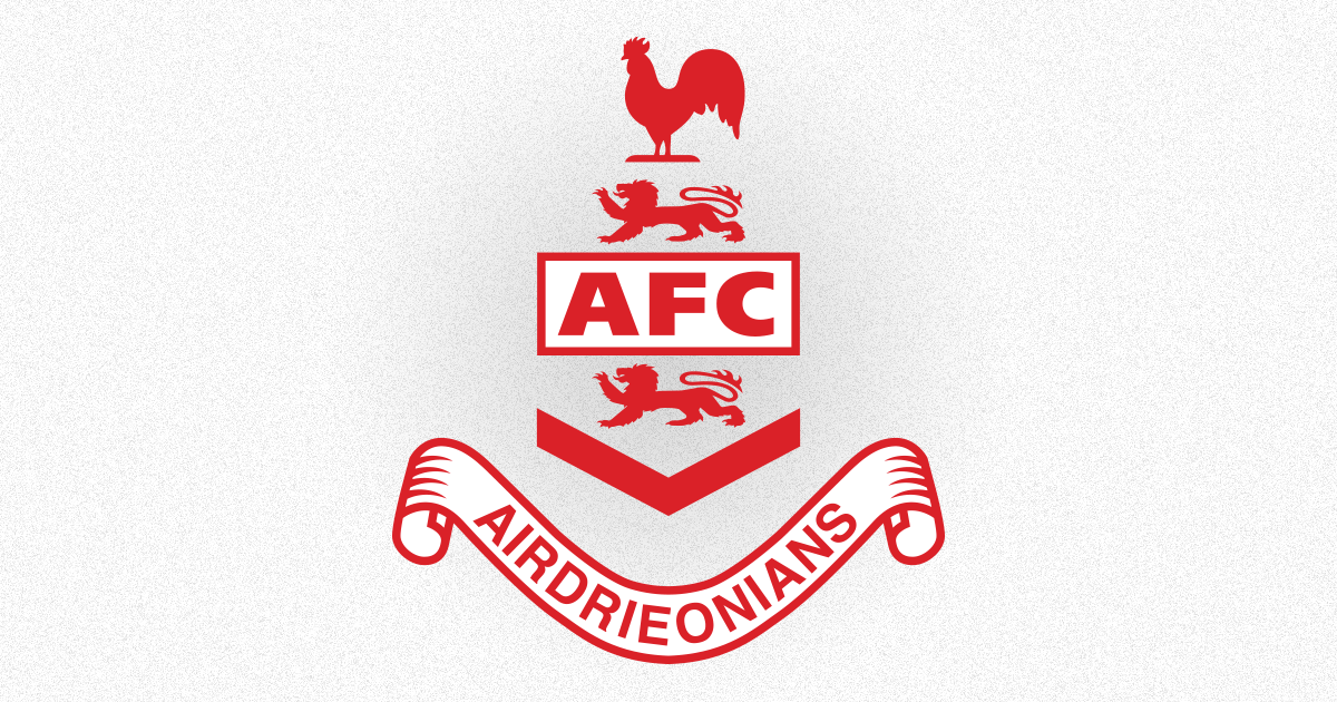 Airdrieonians Sell Out Of Fan Sponsored Shirt