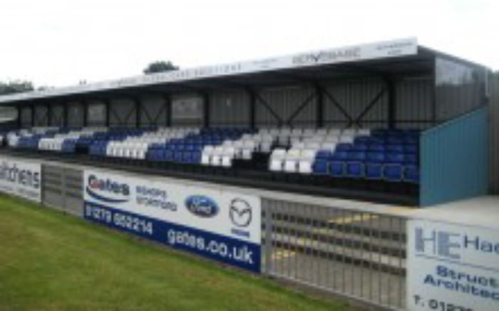 Arena Seating   installs   LT Grandstand   Non League Clubs W1