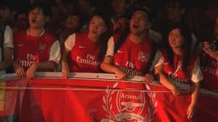 Arsenal Fans in China