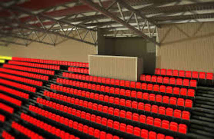 Artists impression New stand