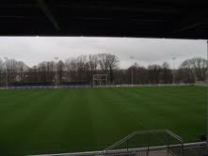 Bangor City FC pitch