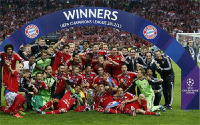 Bayern Munich Champions League Winners