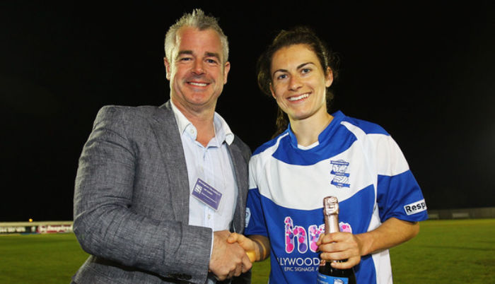 Birmingham City Ladies get Hollywood Monster backing