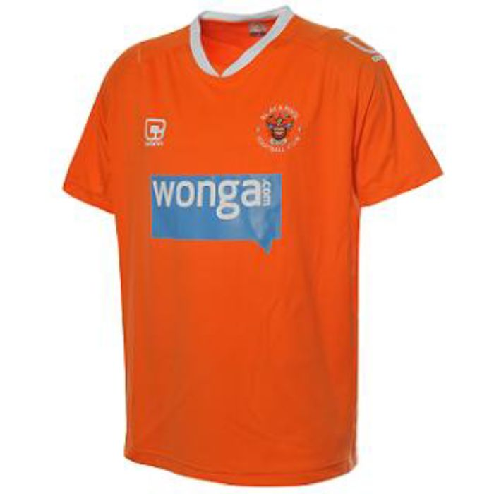Blackpool new shirt