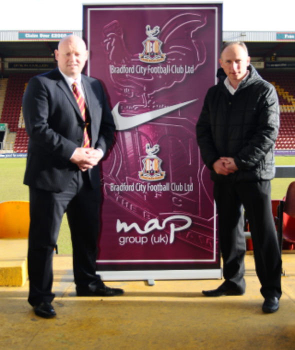 Bradford City Just Sport deal