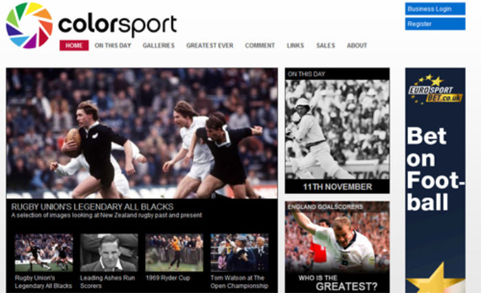 Colorsport-website