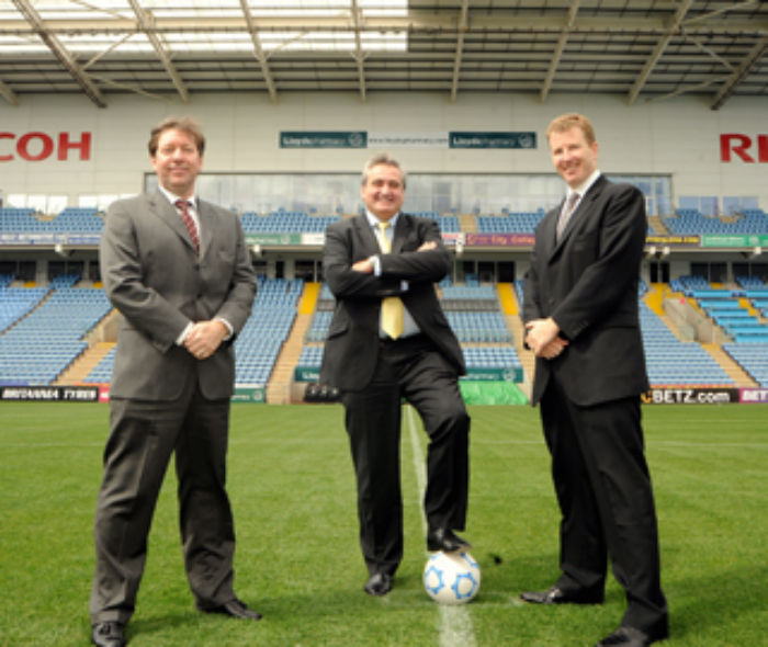 Coventry City seal new stand backer