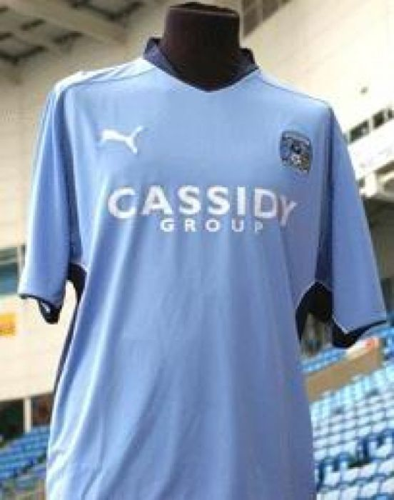 Coventry City shirt
