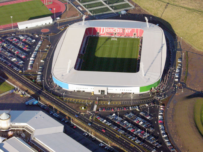 Doncaster Rovers FC - Keepmoat Stadium