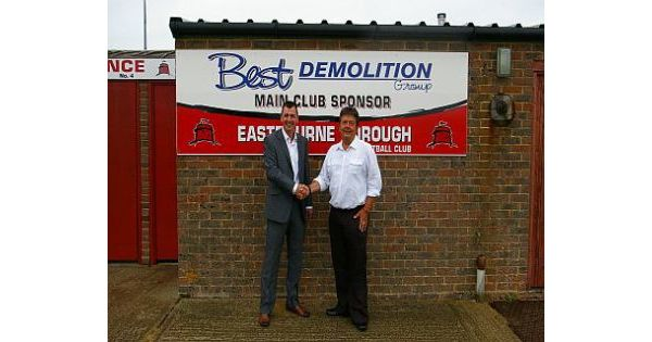 Eastbourne Borough Continue With Demolition