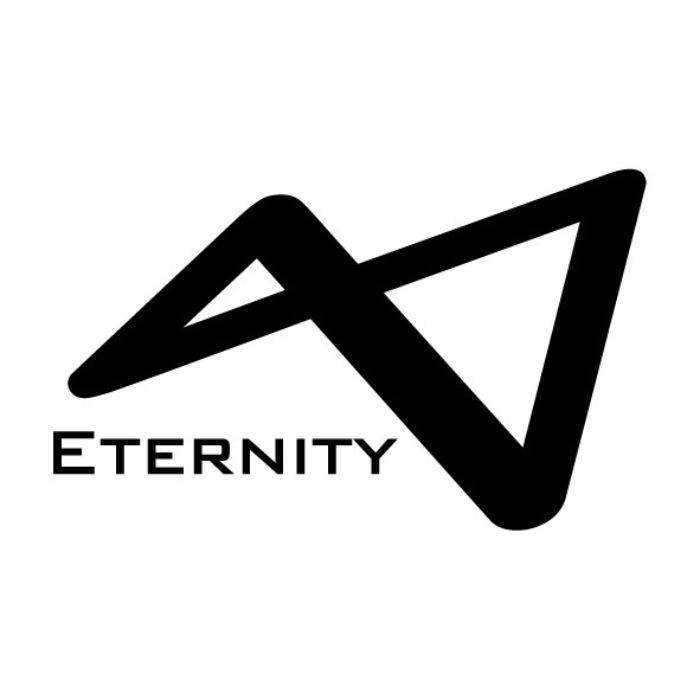 ETERNITY LOGO BLACK
