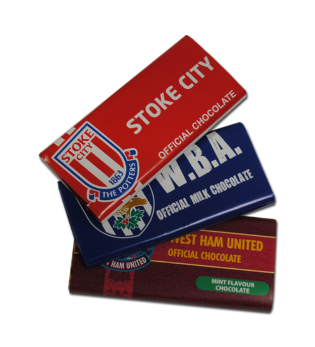 Football Club Chocolate Bars