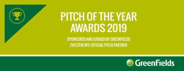 GreenFields Launch 2019 EVO-STIK NPL Pitch of the Year Awards