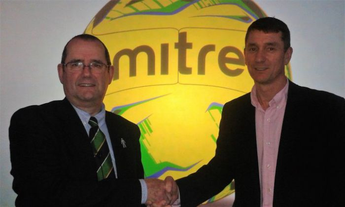 Isthmian League and mitre