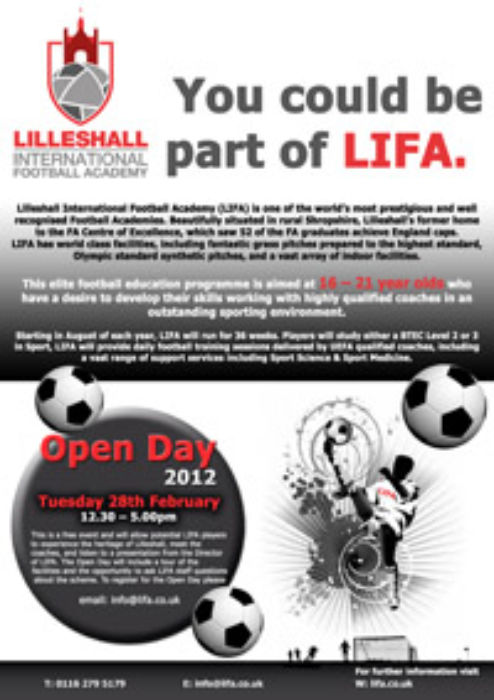 LIFA Open Day Poster copy