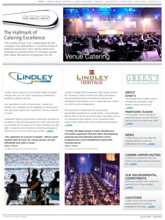 Lindley Group Home Page