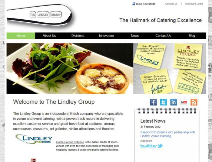 Lindley Homepage