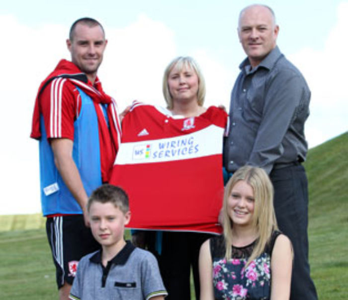 Middlesborough sign second monthly sponsor