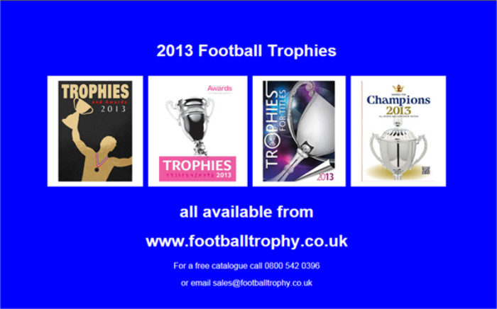 2013 Football Trophies