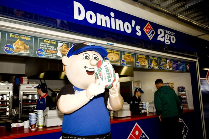 Danny Dominos at Leicester Tigers