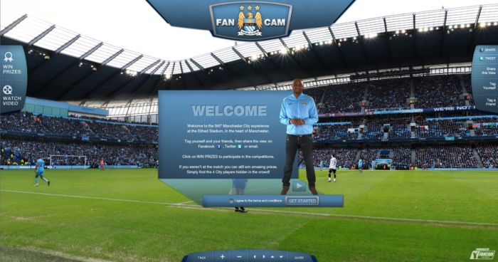 Man City Fc - Fan Cam Webpage