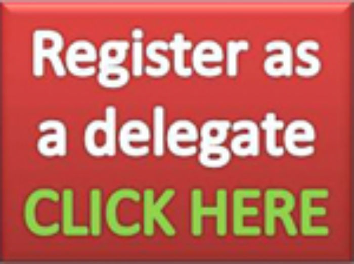 Register as a delegate - button