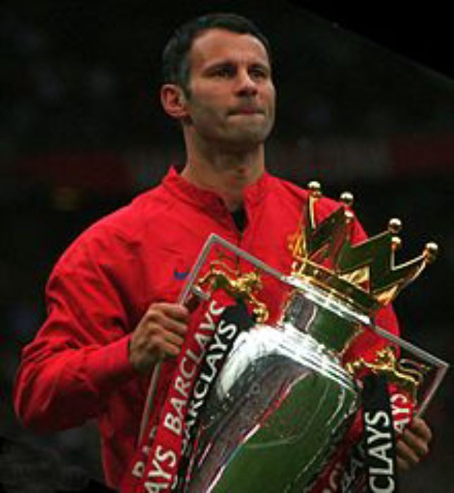 Ryan Giggs   trophy