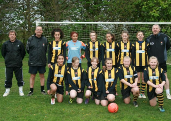 northampton girls team