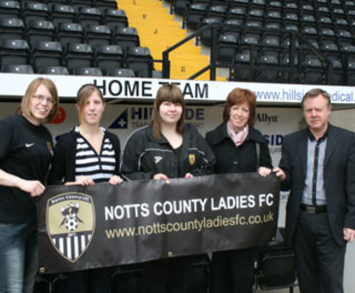 Notts County Ladies Team