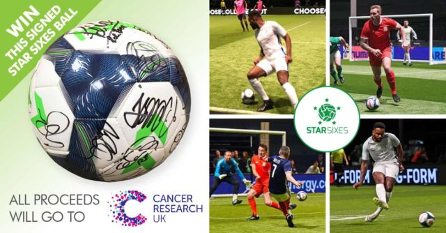Win A Football Signed By Michael Owen, Robert Pires And Many More.