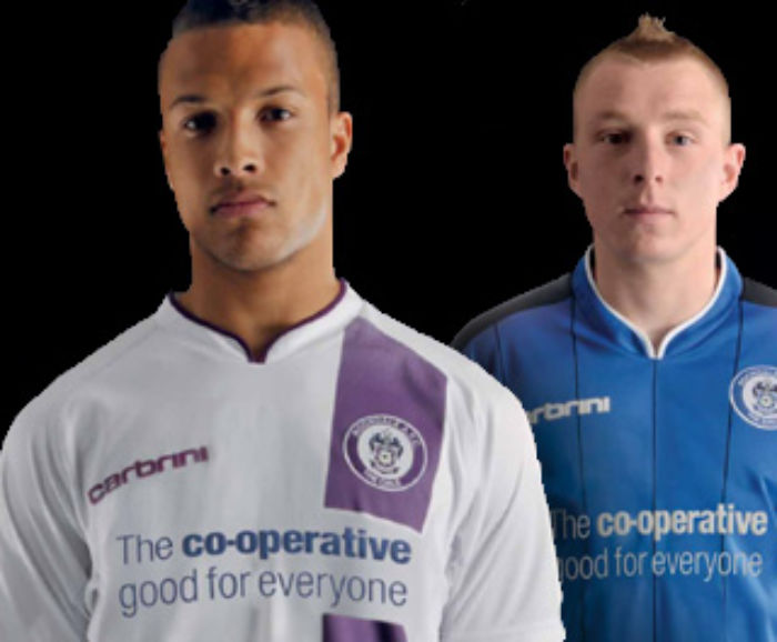Rochdale sign with The Co-operative