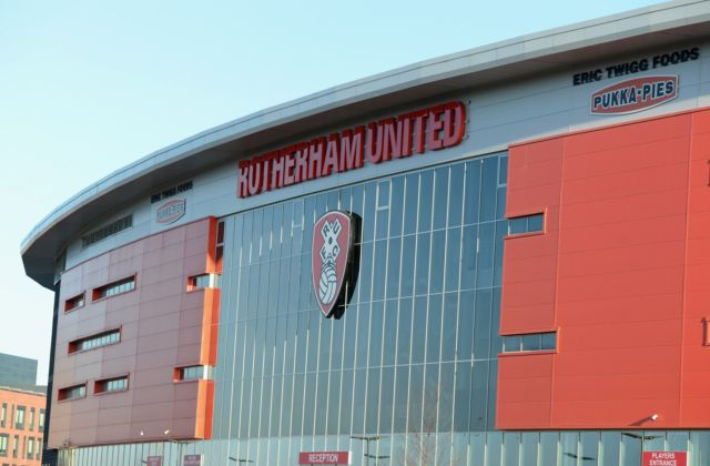 Rigby Taylor products just champion for Rotherham United