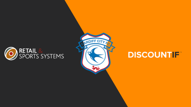 Retail & Sports Systems and Cardiff City sign partnership with DiscountIF