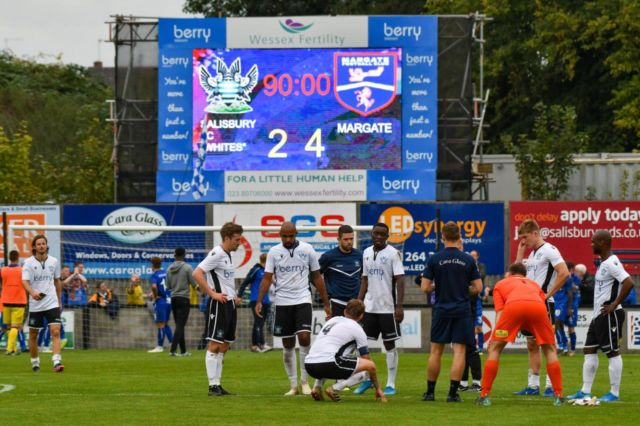 Salisbury FC - Keeping up with Technology with LED Scoreboards