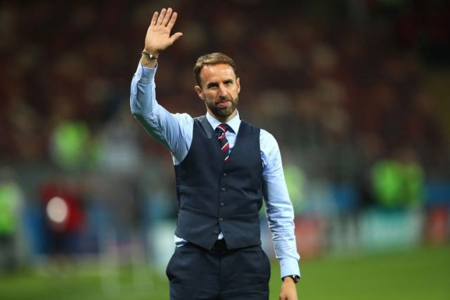 World Cup heroes Gareth Southgate and Harry Kane awarded by Queen