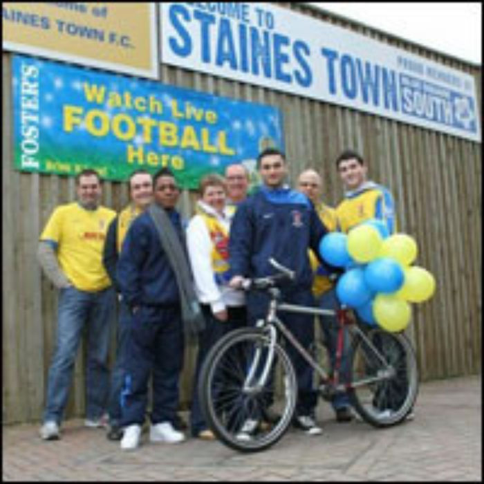 Staines Town - Bike