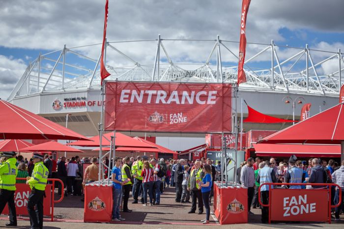Sunderland AFC Fan Zone ev