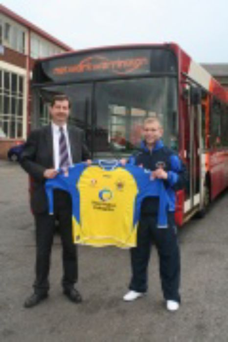 Warrington Town sponsor deal