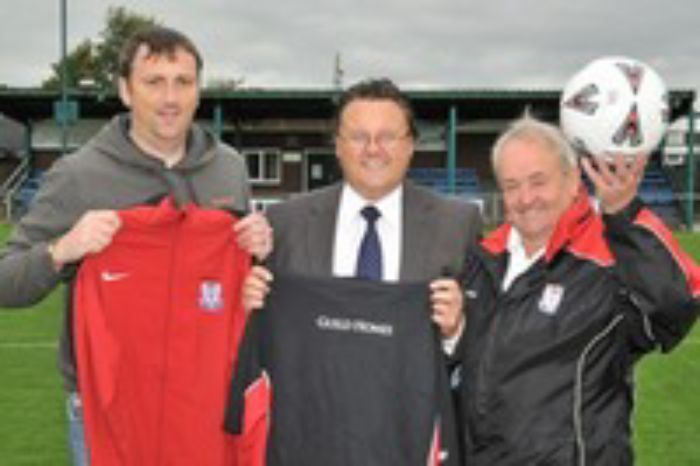 Wem Town FC unveil new sponsor