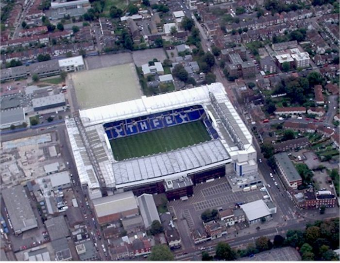 White Hart Lane Aerial.