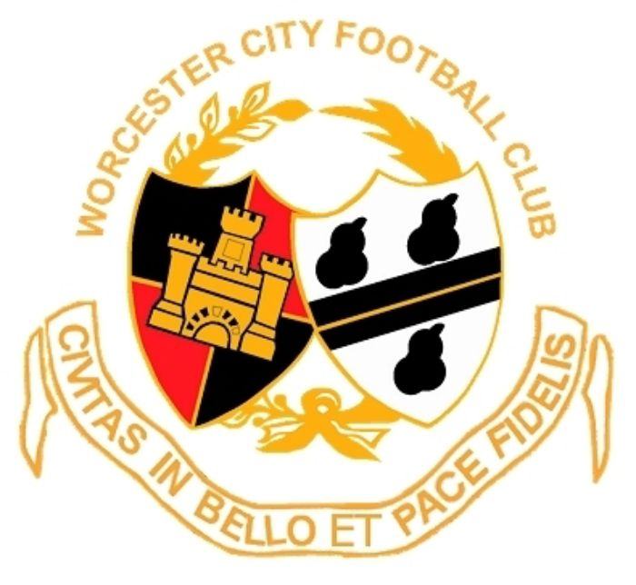 Worcester City logo.